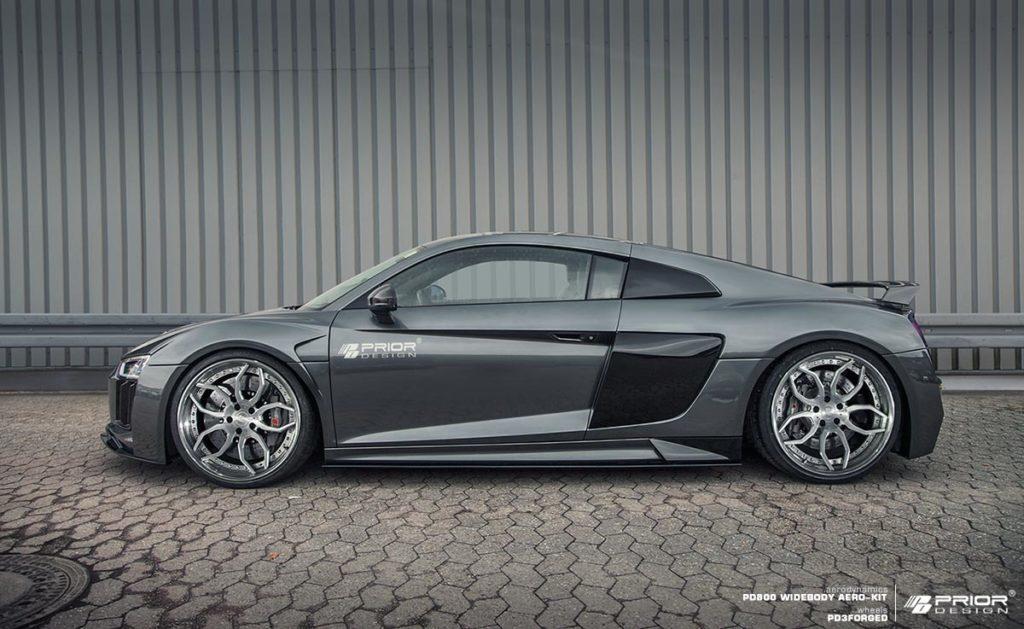 У владельцев Audi R8, которые хотят насладиться уникальным внешним видом, есть еще один вариант.