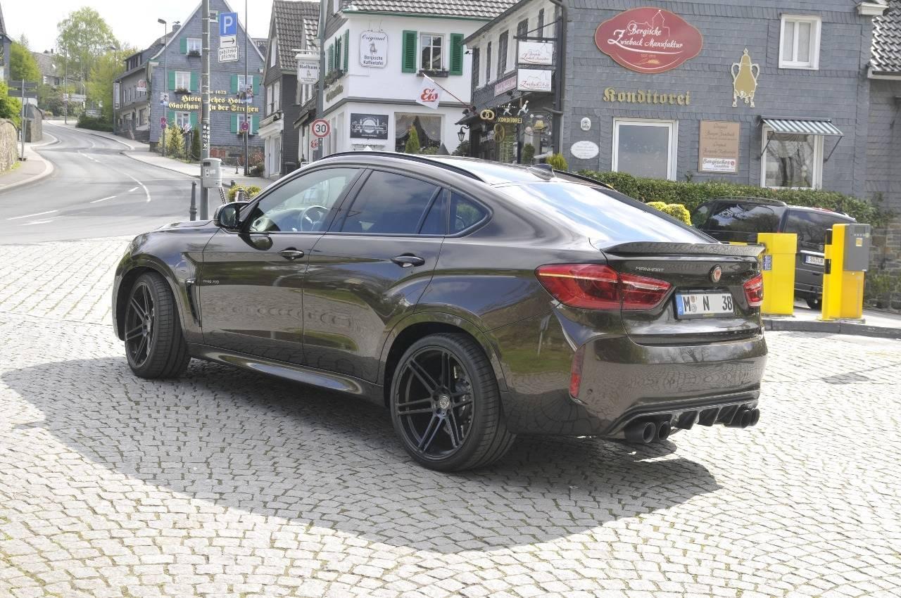 Немецкая тюнинг-компания Manhart Performance зарекомендовала себя как производитель лучших продуктов для тюнинга модельного ряда BMW.
