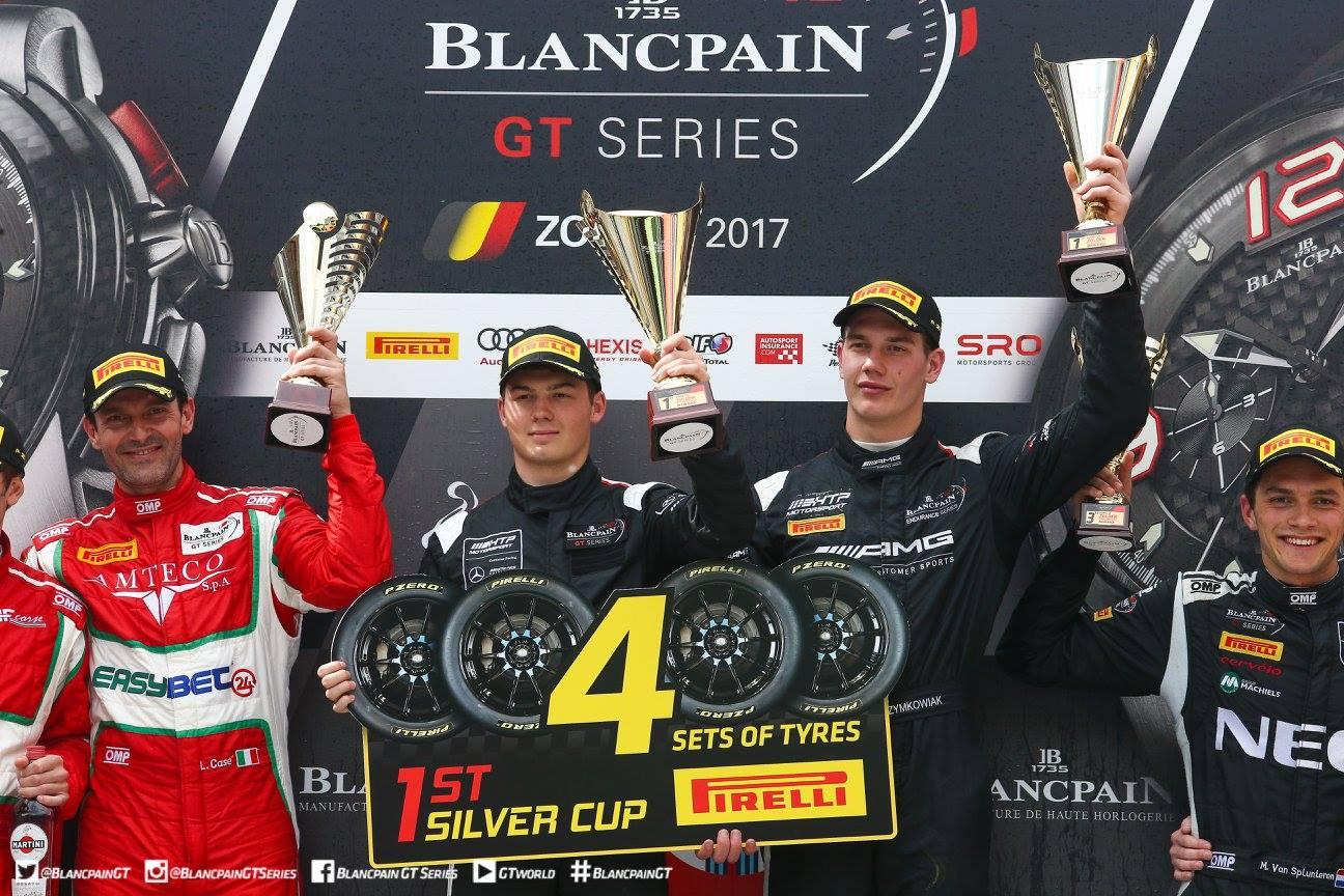 Лучший Mercedes финишировал шестым, №84 HTP Motorsport Mercedes-AMG GT3 Франка Перера и Максимилиана Банка опередив №66 Attempto Racing Lamborghini Huracan GT3.
