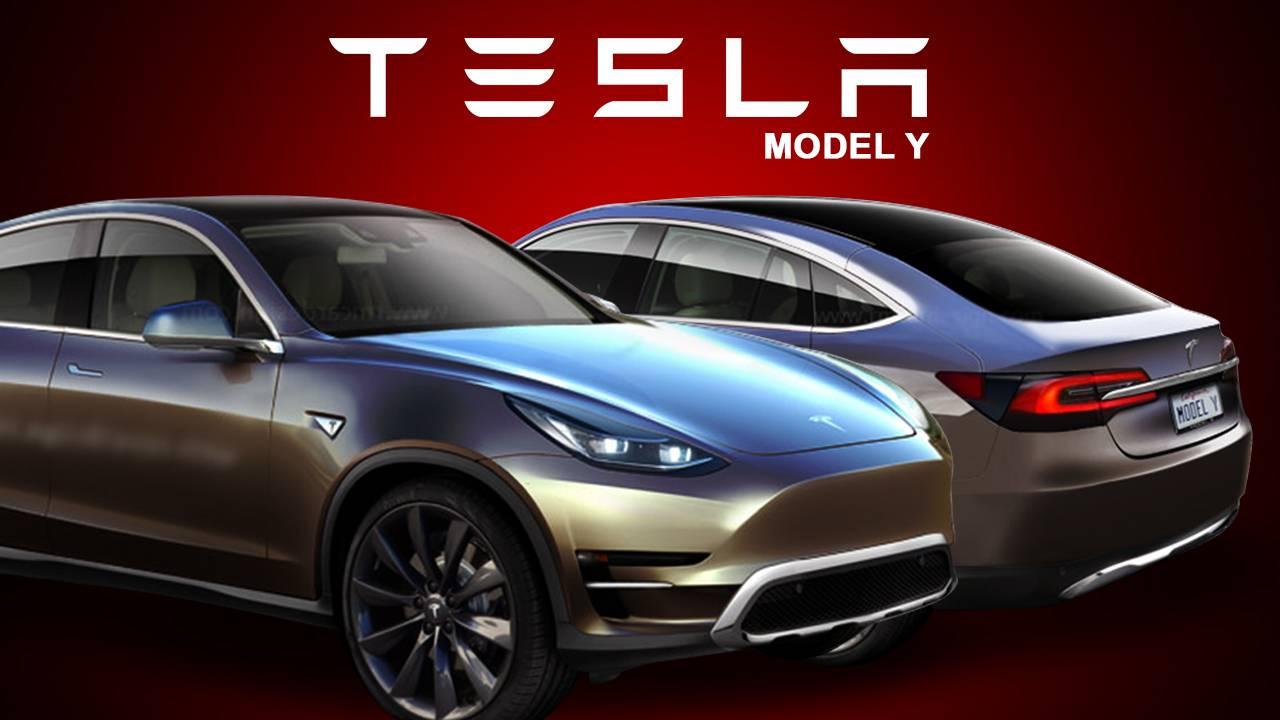 Кроссовер Model Y как ожидается, будет использовать компактную платформу еще не запущенной Model 3. Однако на собрании акционеров Маск предложил другую цепочку.