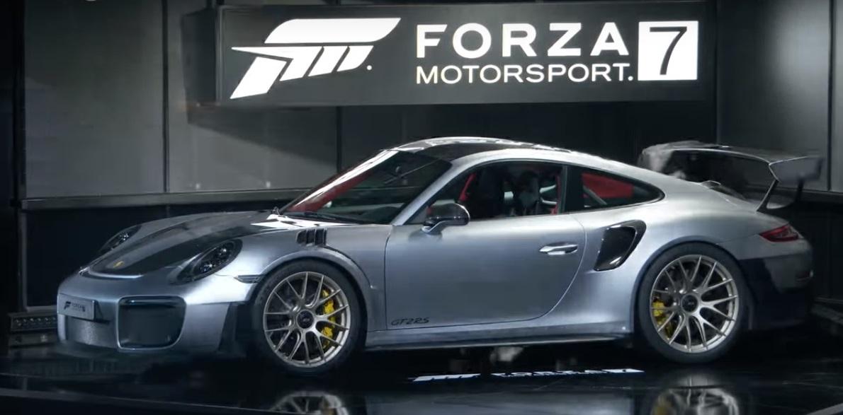 Мы ожидали, что он мировой дебют автомобиля состоится на фестивале Goodwood Speed 2017 или IAA 2017, но из-за давних отношений между Forza Motorsport И Porsche, было здорово, что самые мощные 911 дебютировали вместе с Forza 7 и самой мощной консолью