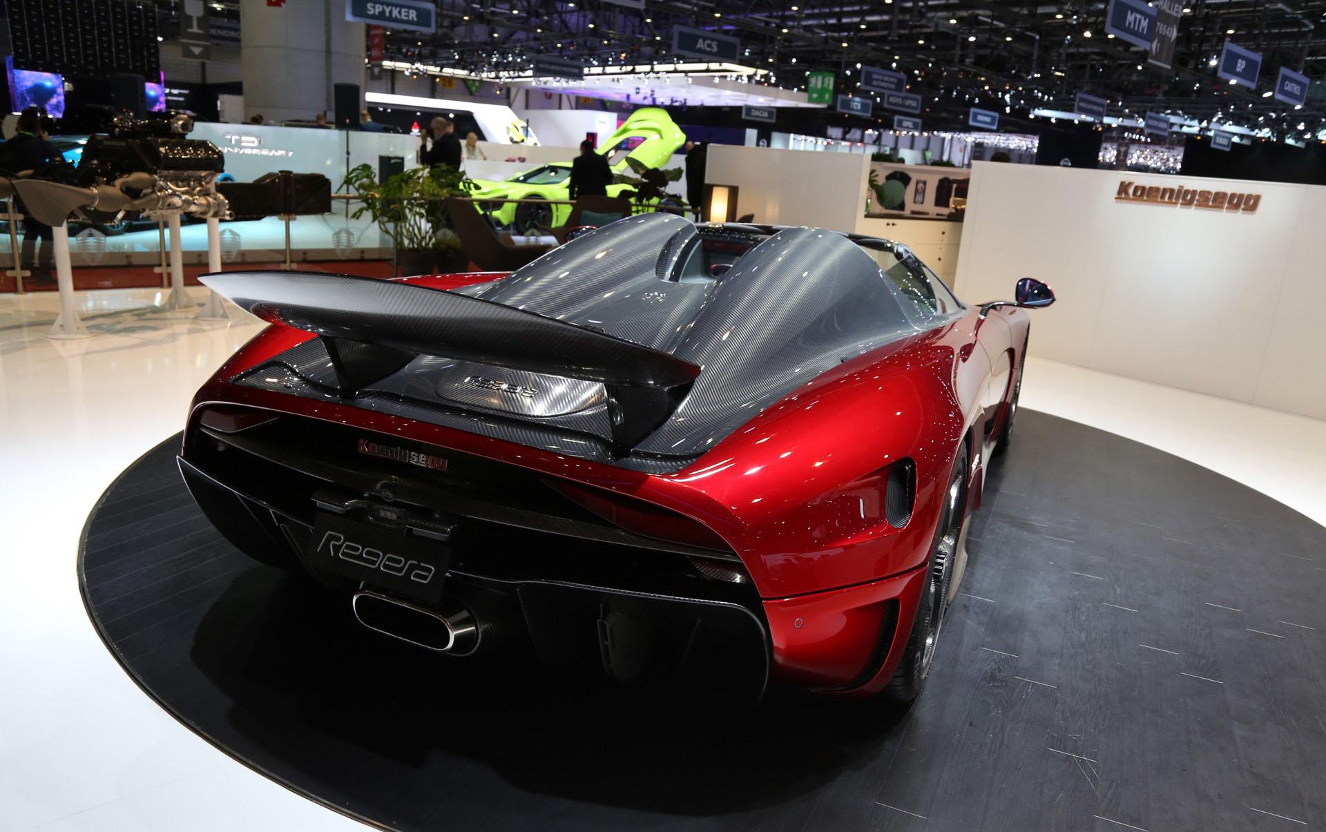 До нас только что дошли новости о том, что Koenigsegg Regera официально распродан.