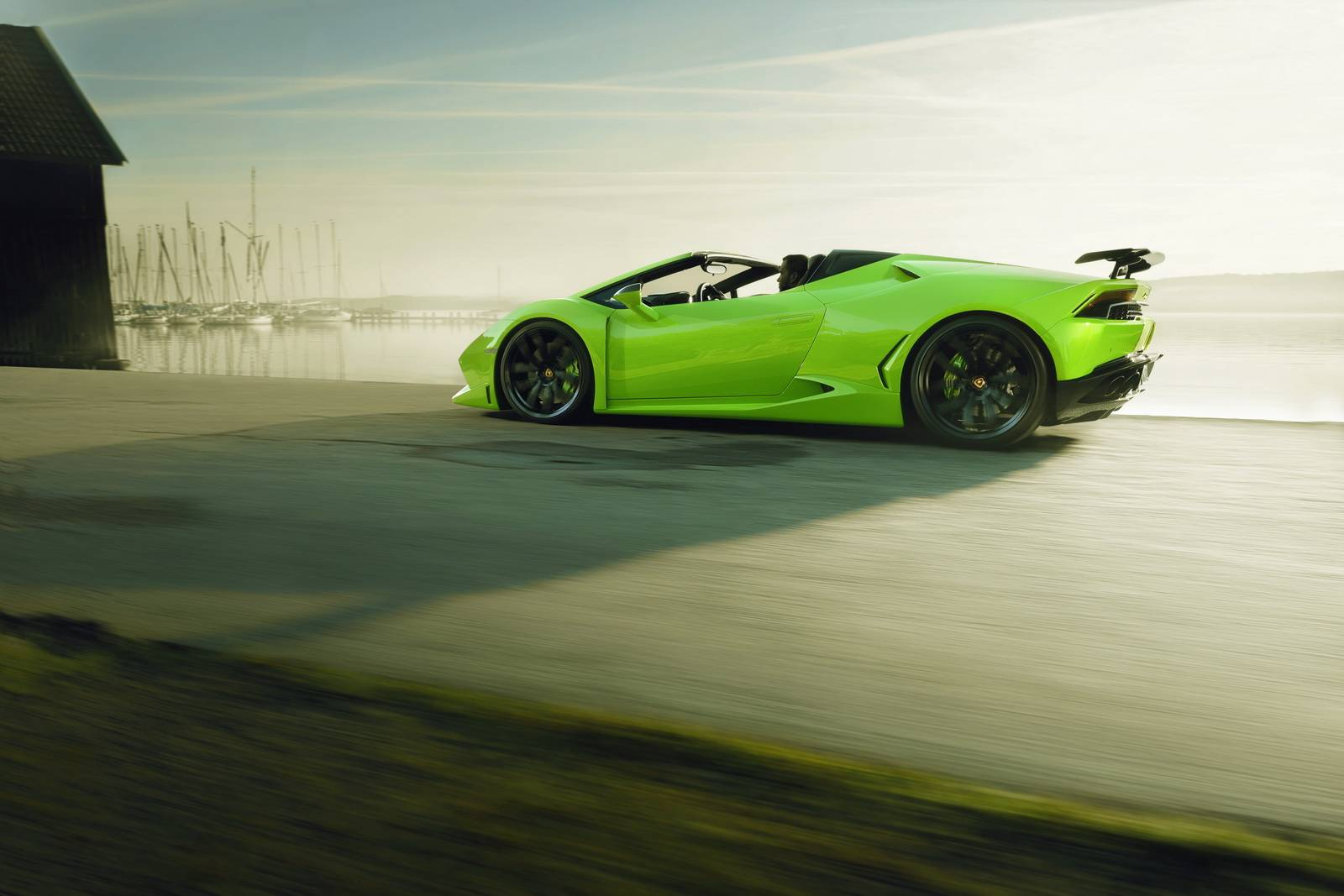 Novitec N-Largo Lamborghini Huracan Spyder официально объявлен со всем драматизмом, который только можно ожидать от немецкого тюнера!