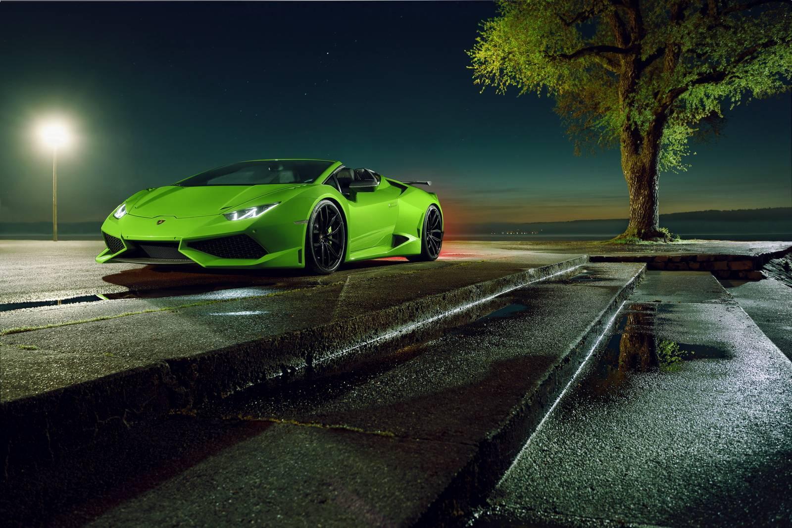 Novitec N-Largo Lamborghini Huracan Spyder, по-видимому, будет ограничен только одиннадцатью автомобилями.