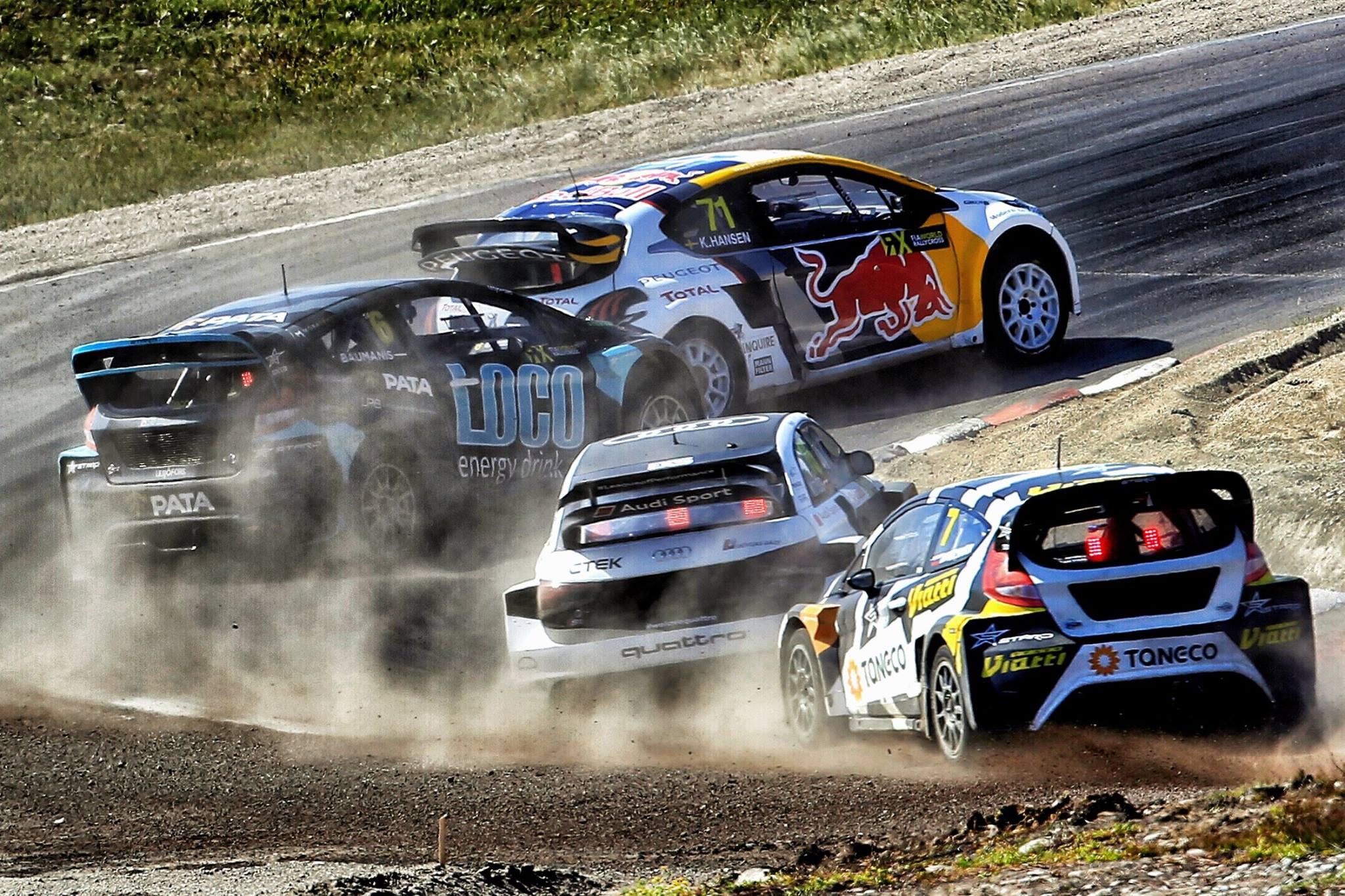 Водитель Hooligan Андреас Баккеруд занял второе место на своем Ford Focus RS RX, а легенда WRC Себастьян Леб пересек финишную черту третьим с командой Hansen Peugeot 208 WRX. Тимми Хансен закончил за своим товарищем по команде Кевином  Эрикссоном, а