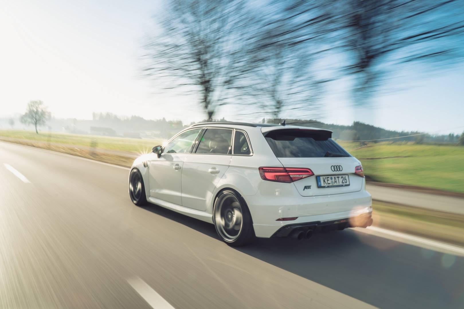 ABT выпустил свой пакет тюнинга для нового Audi RS3 Sportback.