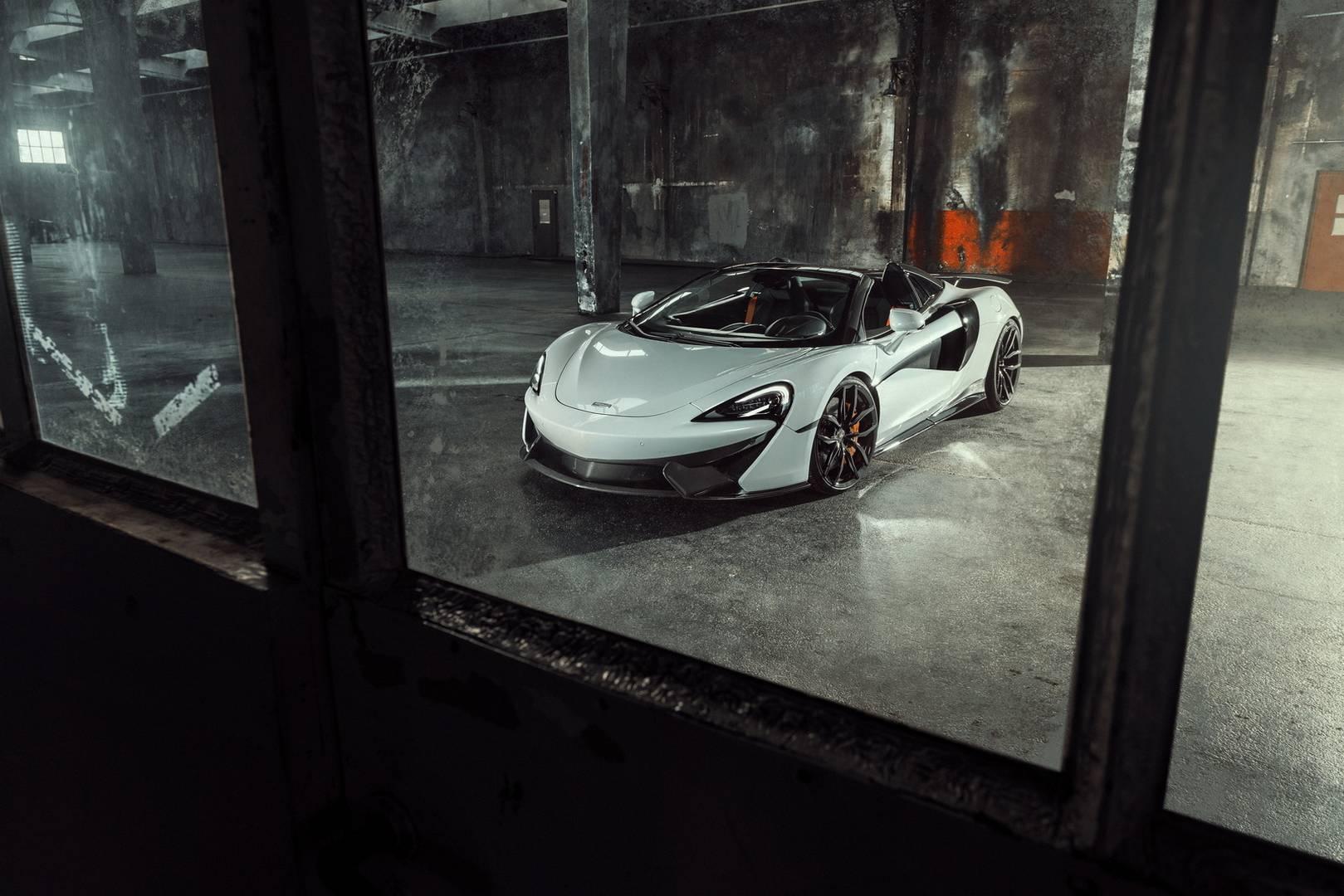 Натиск моделей Novitec продолжается с выпуском пакета Novitec McLaren 570S Spider.