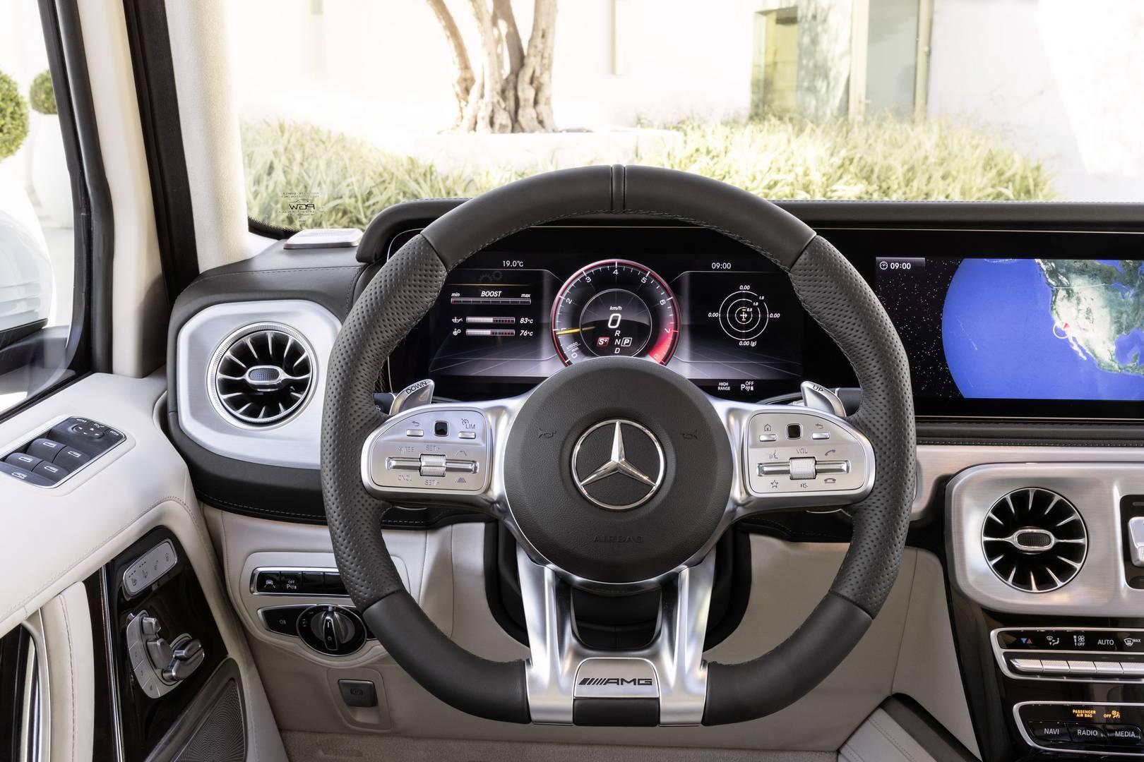 Существует множество систем комфорта и помощи водителю, предназначенных для переноса G-Wagen в современное время.