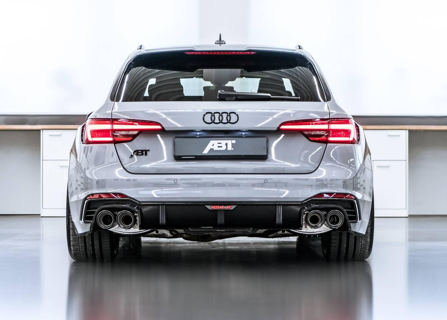 ABT RS4-R дебютирует в Женеве в этом году, предлагая значительное увеличение мощности и агрессивный новый облик.