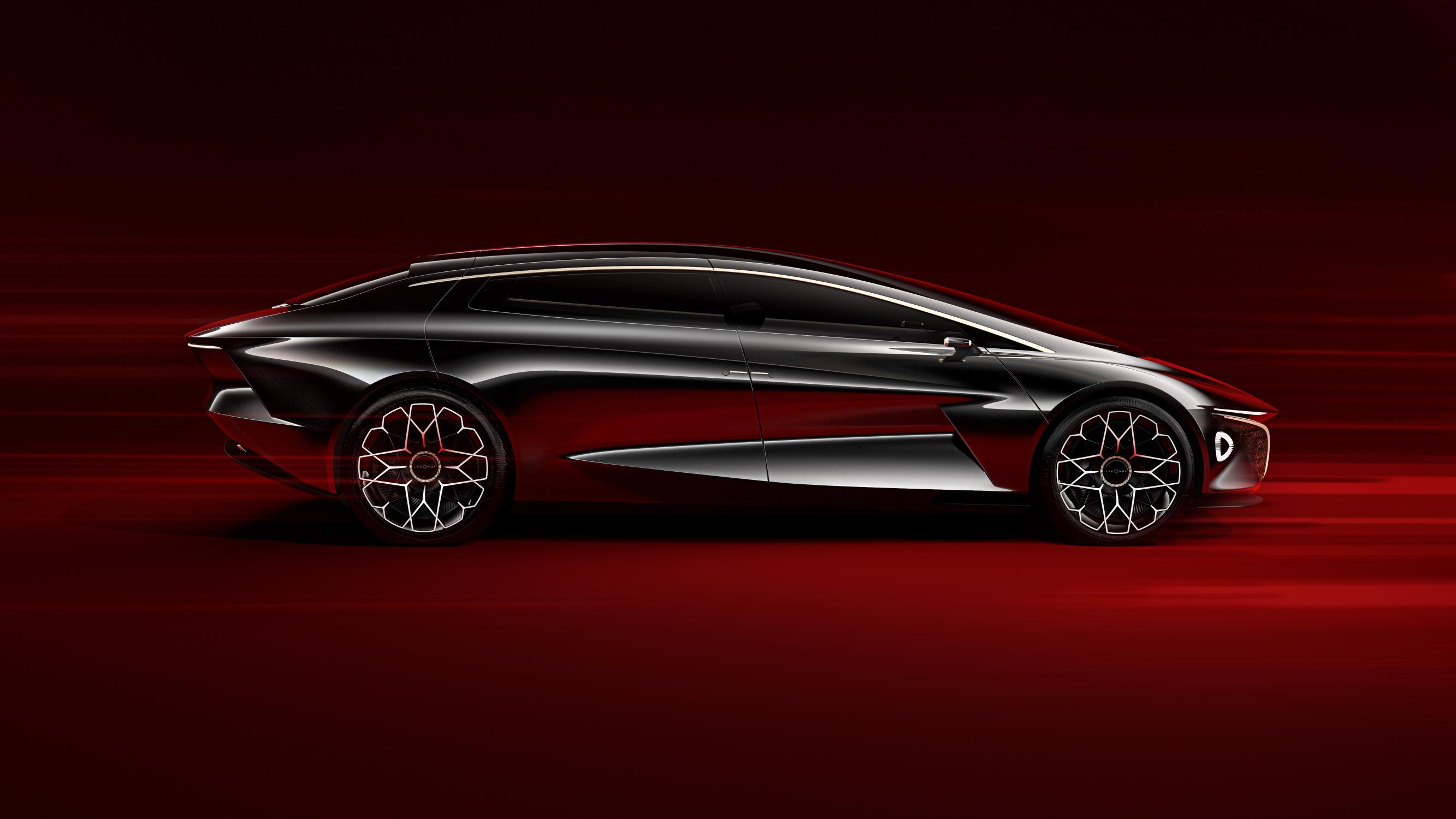 Две модели в 40-ом масштабе также представлены вместе с концепцией седана, внедорожника и купе.
