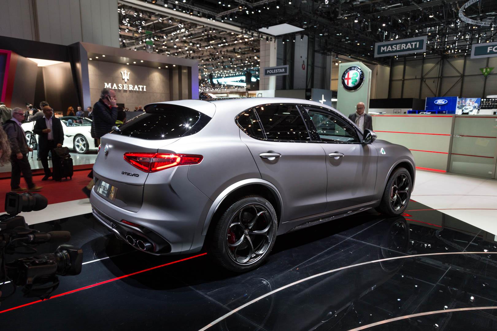 Alfa Romeo не выпустила ничего нового для Женевского автосалона в этом году.