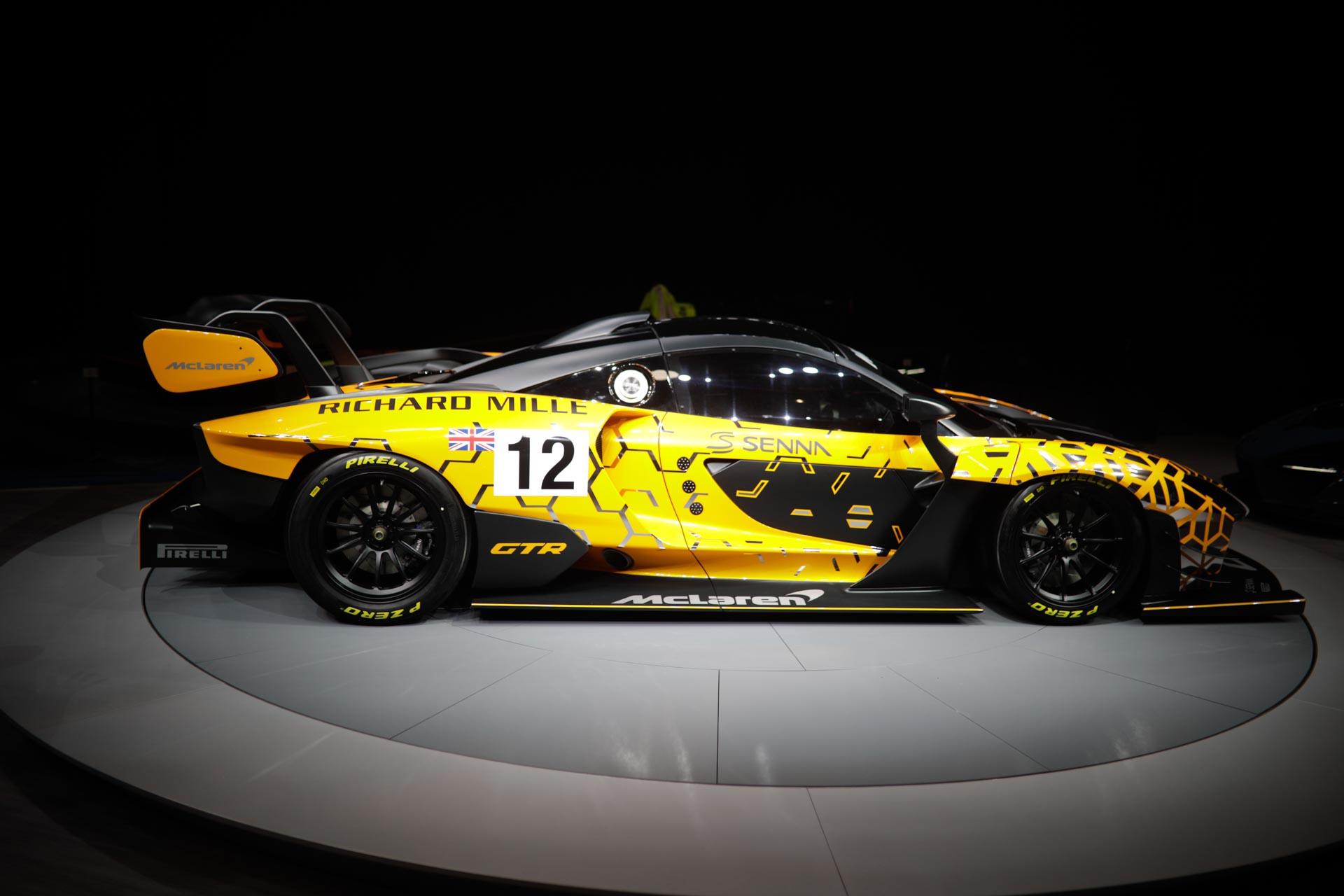 Carbon Theme - это влияние MSO на McLaren Senna.