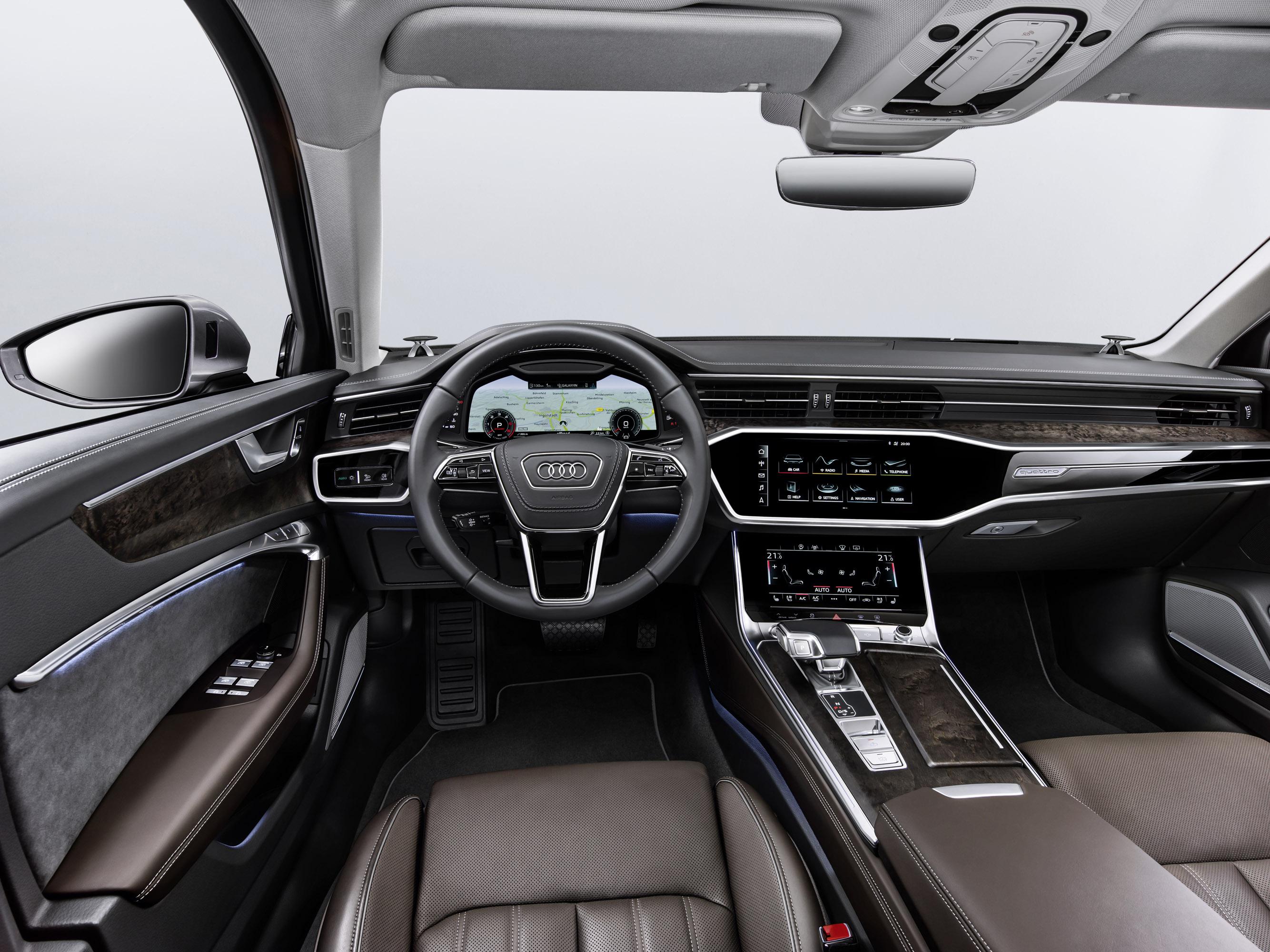 2019 Audi A6 собирается дебютировать в США на Международном автосалоне в Нью-Йорке.