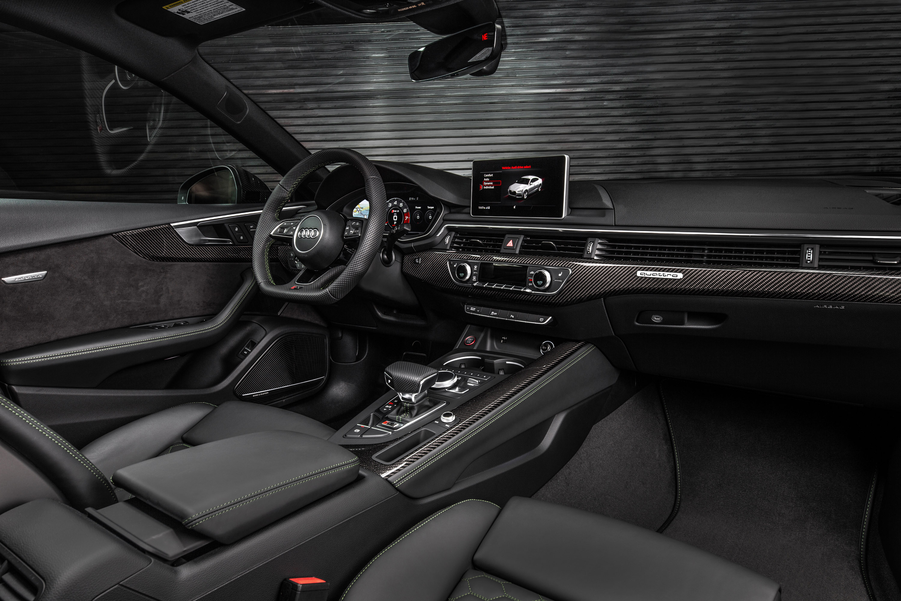 Команда Audi Sport запускает свою новую RS: Audi RS 5 Sportback.