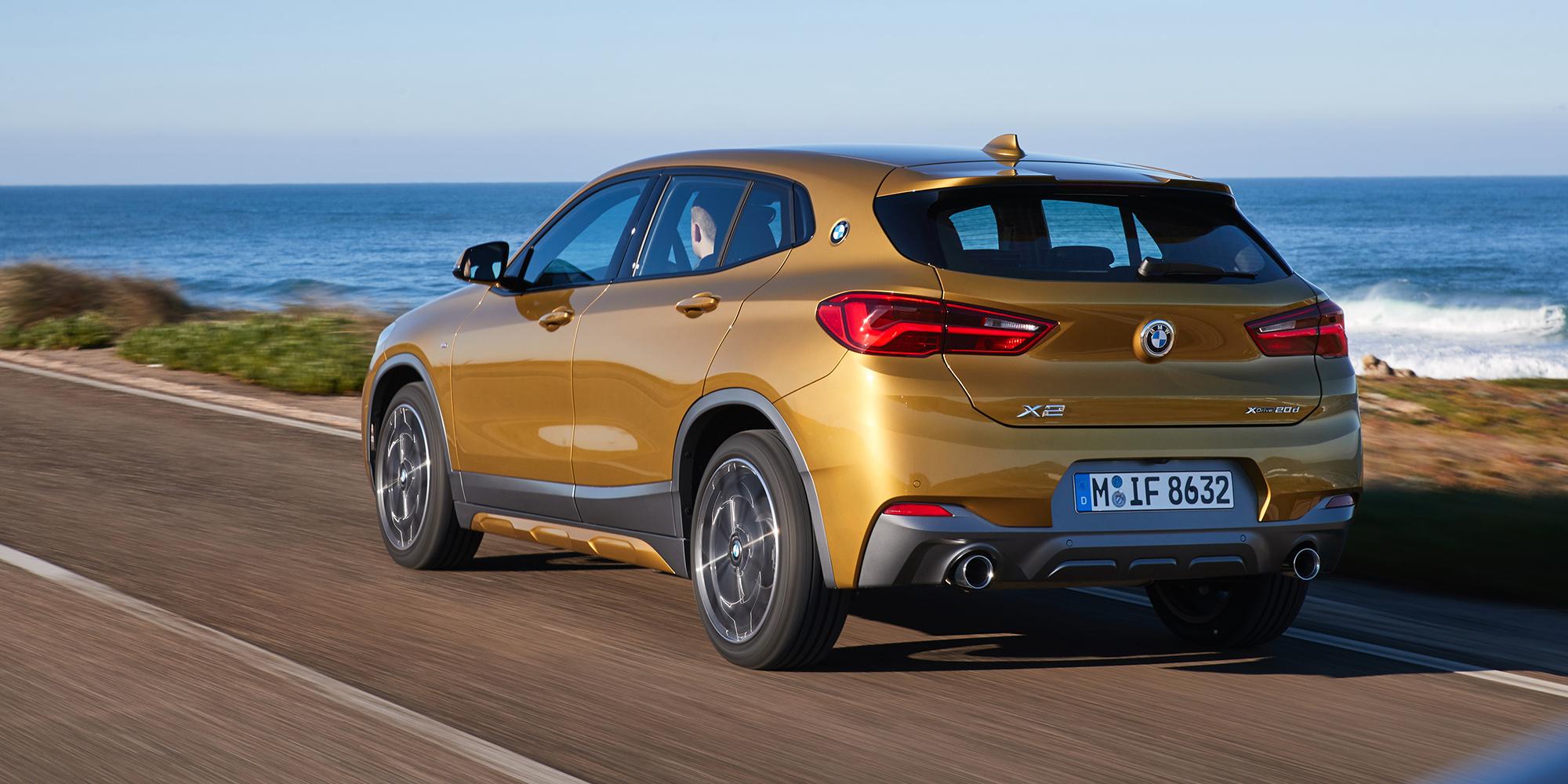 BMW Australia подтвердила цены и спецификации для моделей X2 sDrive 18i и xDrive20d, в результате чего линейка расширилвсь до трех вариантов.