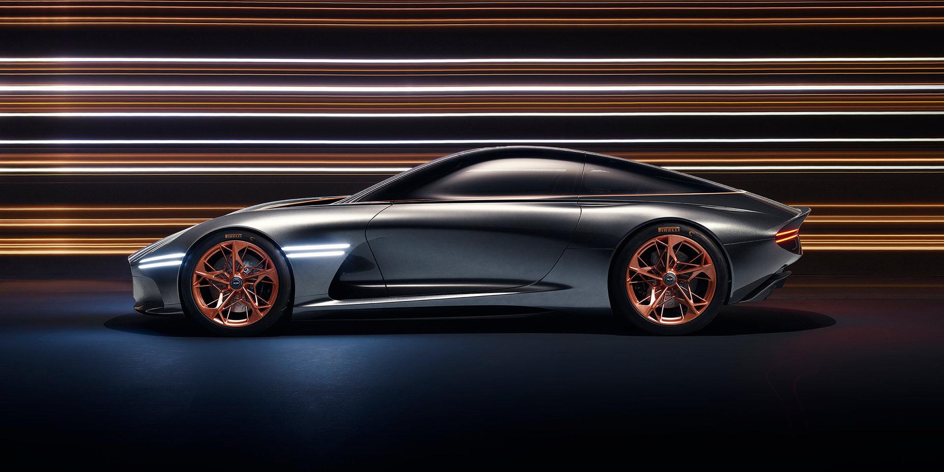 Полностью электрический GT намекает на будущие планы автопроизводителя.