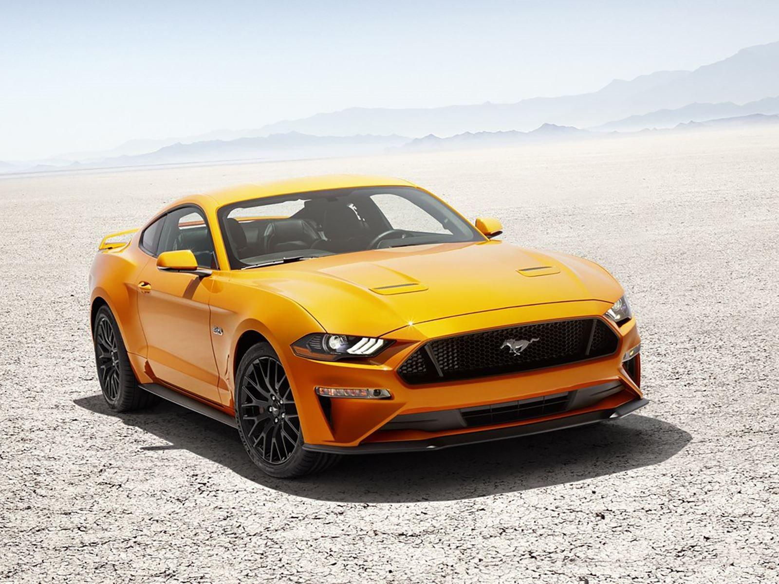 Между тем, гибридная версия нынешнего Mustang появится в 2019 году.