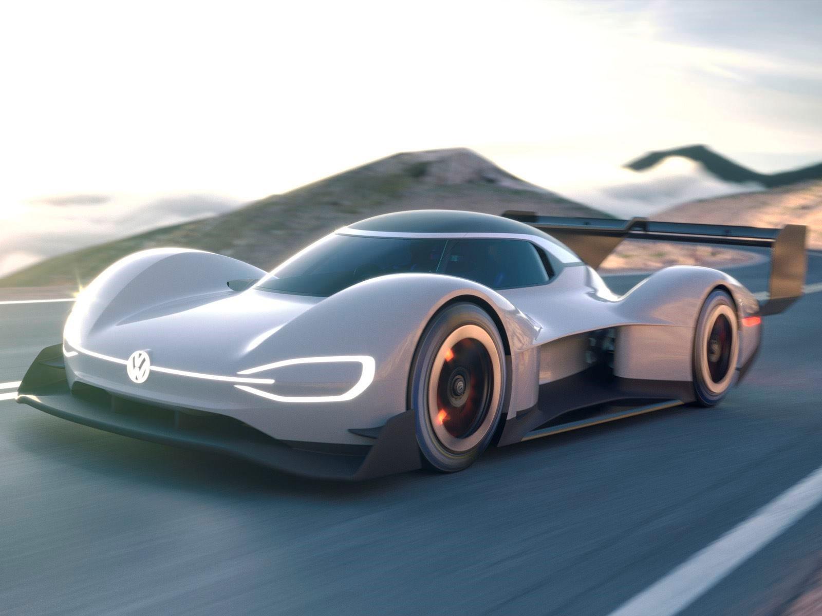 Volkswagen сегодня представил свой первый полностью электрический гоночный автомобиль I.D. R Pikes Peak, с которым компания попытается установить рекорд на международном турнире по подъему на холм в Колорадо-Спрингс 24 июня. I.D. R Pikes Peak был пок