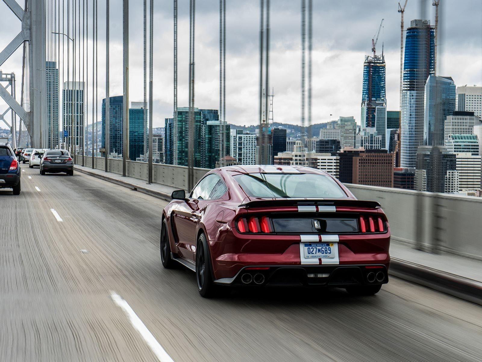 Там также есть аналоговые датчики, но мы надеемся, что автомобиль унаследует цифровой приборный блок от текущего Mustang. Будучи высокопроизводительным, ориентированным на трек автомобилем, Ford будет использовать GT500 для конкуренции с Camaro Camar