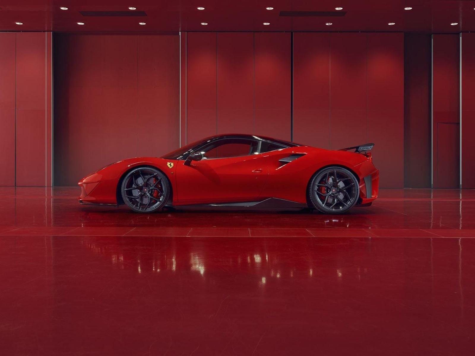 Наряду с обычными 21-дюймовыми колесами эти дополнения сбросили 42 кг от веса стандартного суперкара. Тем не менее есть и обратная сторона. Доступность суперкара крайне ограничена: только 20 Ferrari 488 GTB будут оснащены пакетом FPlus Corsa, цена ко