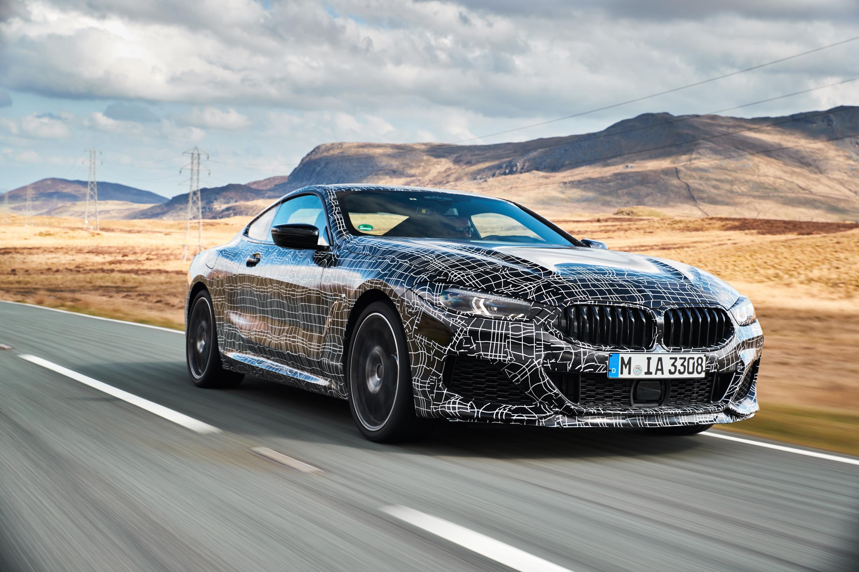 Испытания 8-й серии проводились не только в Уэльсе, но и на гоночном треке и оцепленном полигоне, зимние тесты проводились в Арджеплоге в Швеции, на испытательной площадке BMW Group в Мирамасе на юге Франции и в испытательном центре на Nürburgring No