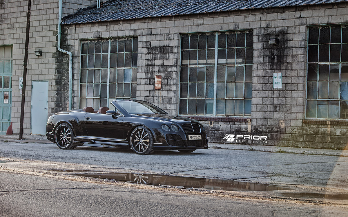 Bentley Continental GTC Prior тюнинг