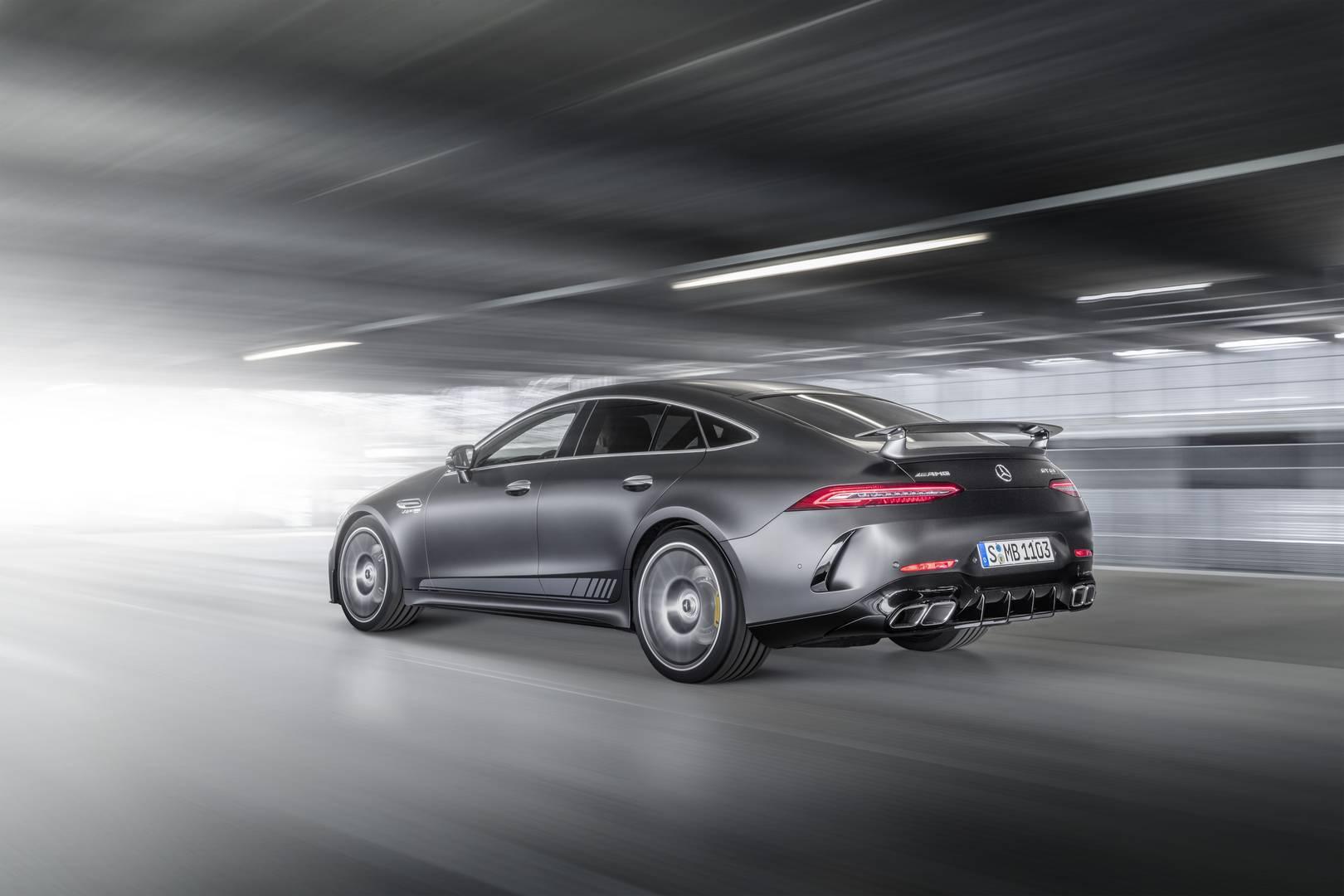 Mercedes-AMG GT 63 S Edition 1 будет доступен с сентября 2018 года по сентябрь 2019 года.