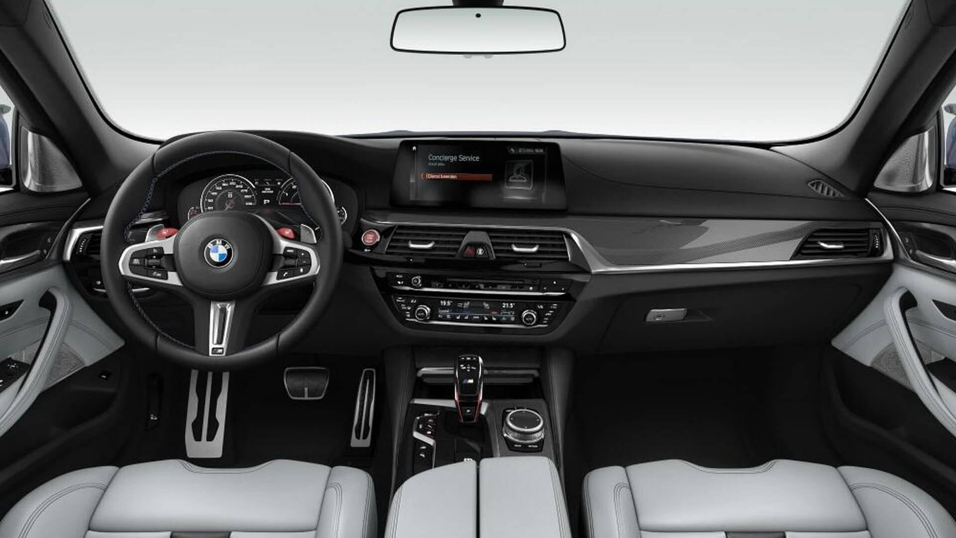 Изображения и подробности предстоящего BMW M5 Competition просочились в Интернет на этой неделе.