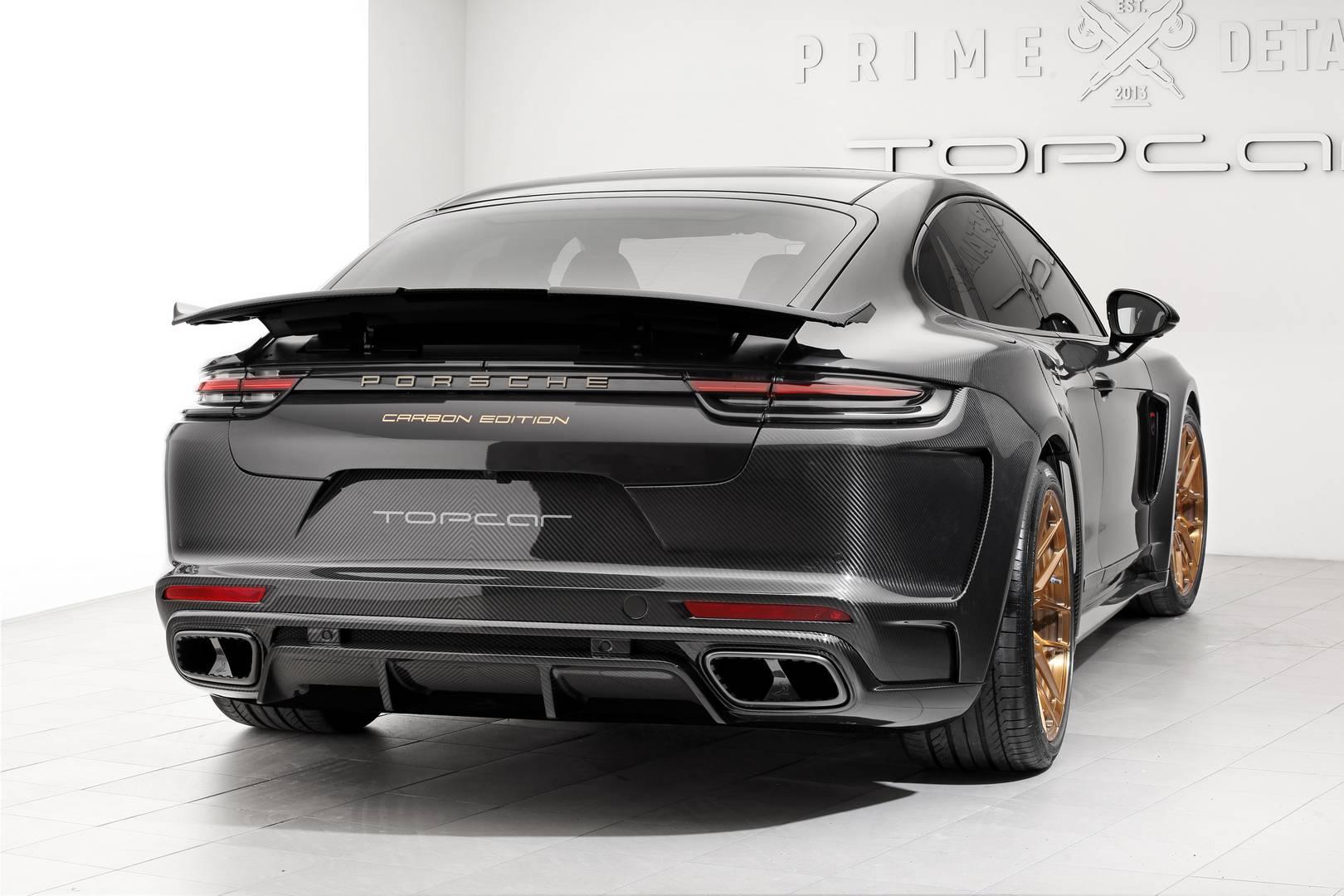 Основанные на Porsche 911 (991.2) и Panamera (971), оба экземпляра снабжены кузовом полностью из карбона.