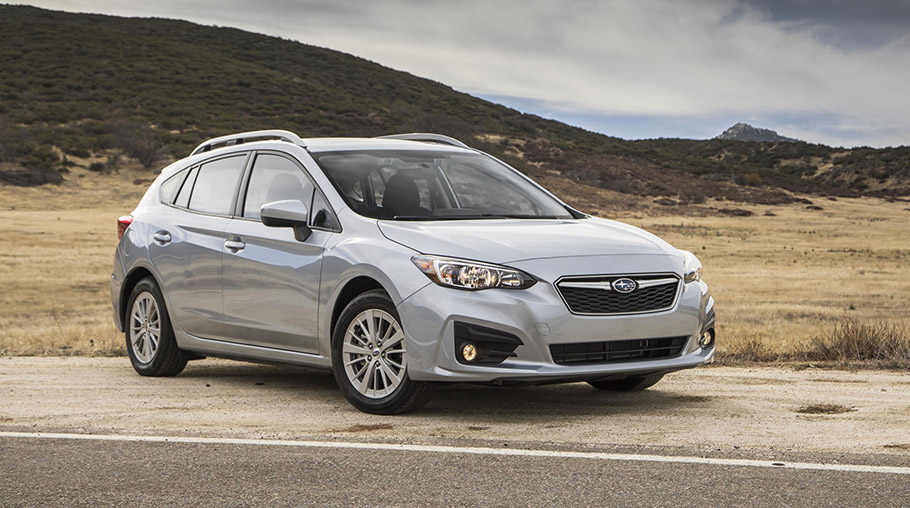 2018 Subaru Impreza выиграла престижную награду Kelley Blue Book