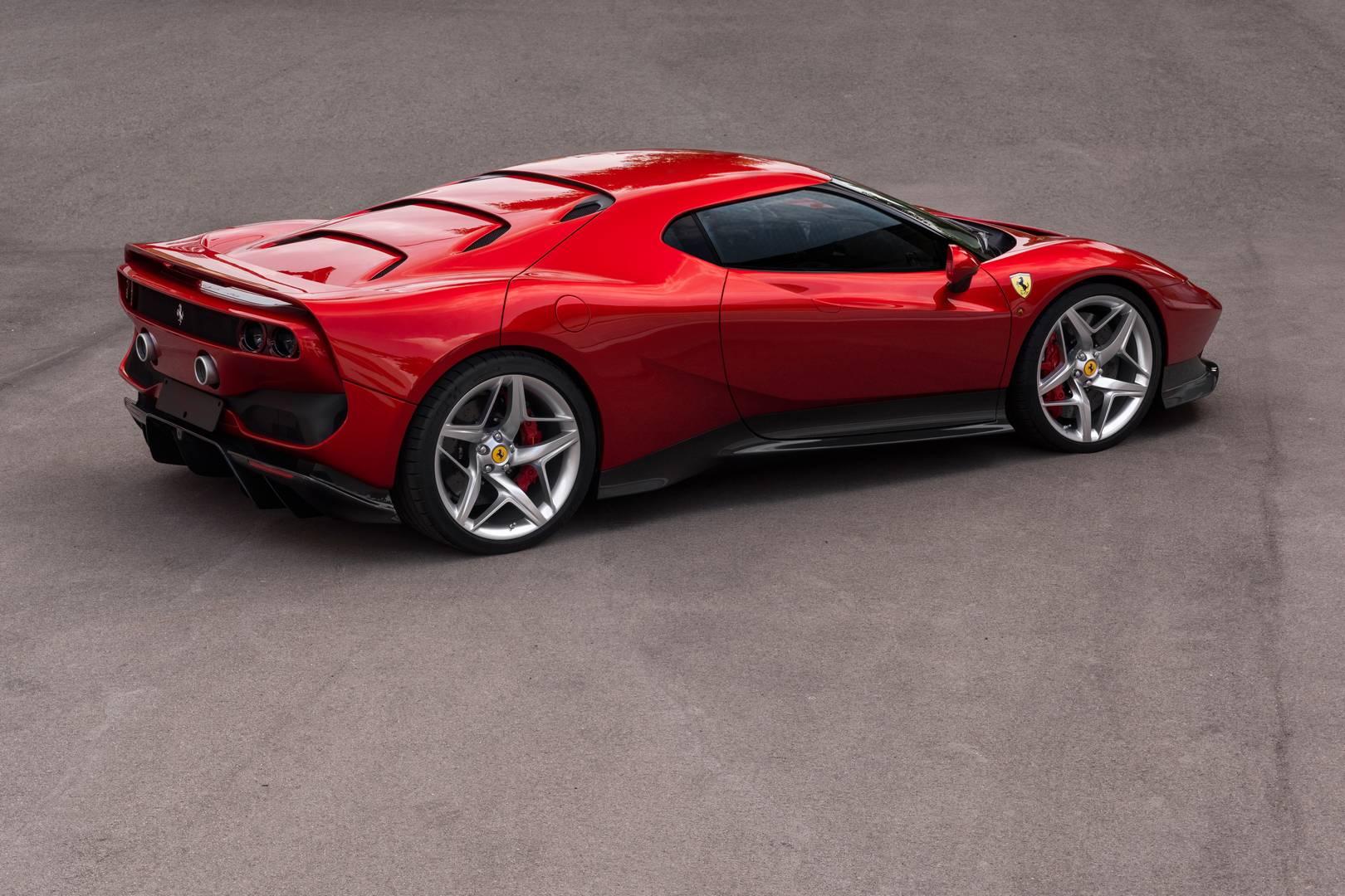 Программа по запуску уникальных специальных изданий Ferrari одно время затихла.