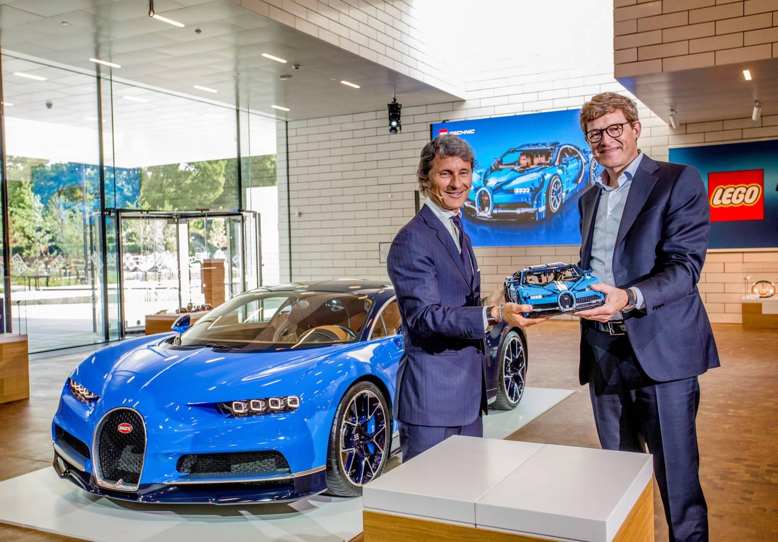 Lego и Bugatti объявили о своем сотрудничестве на этой неделе.
