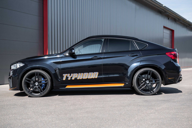 С точки зрения трансмиссии система G-POWER увеличил максимальную скорость 4,4-литрового твин-турбо V8.