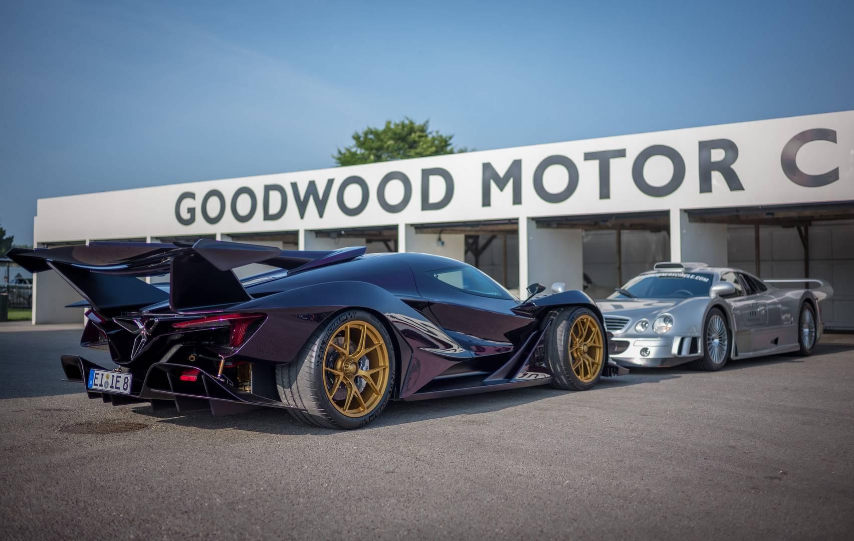 Компания Apollo, которая теперь владеет правами на наследие Gumpert, недавно объявила о техническом партнерстве с легендарными автогонщиками HWA.