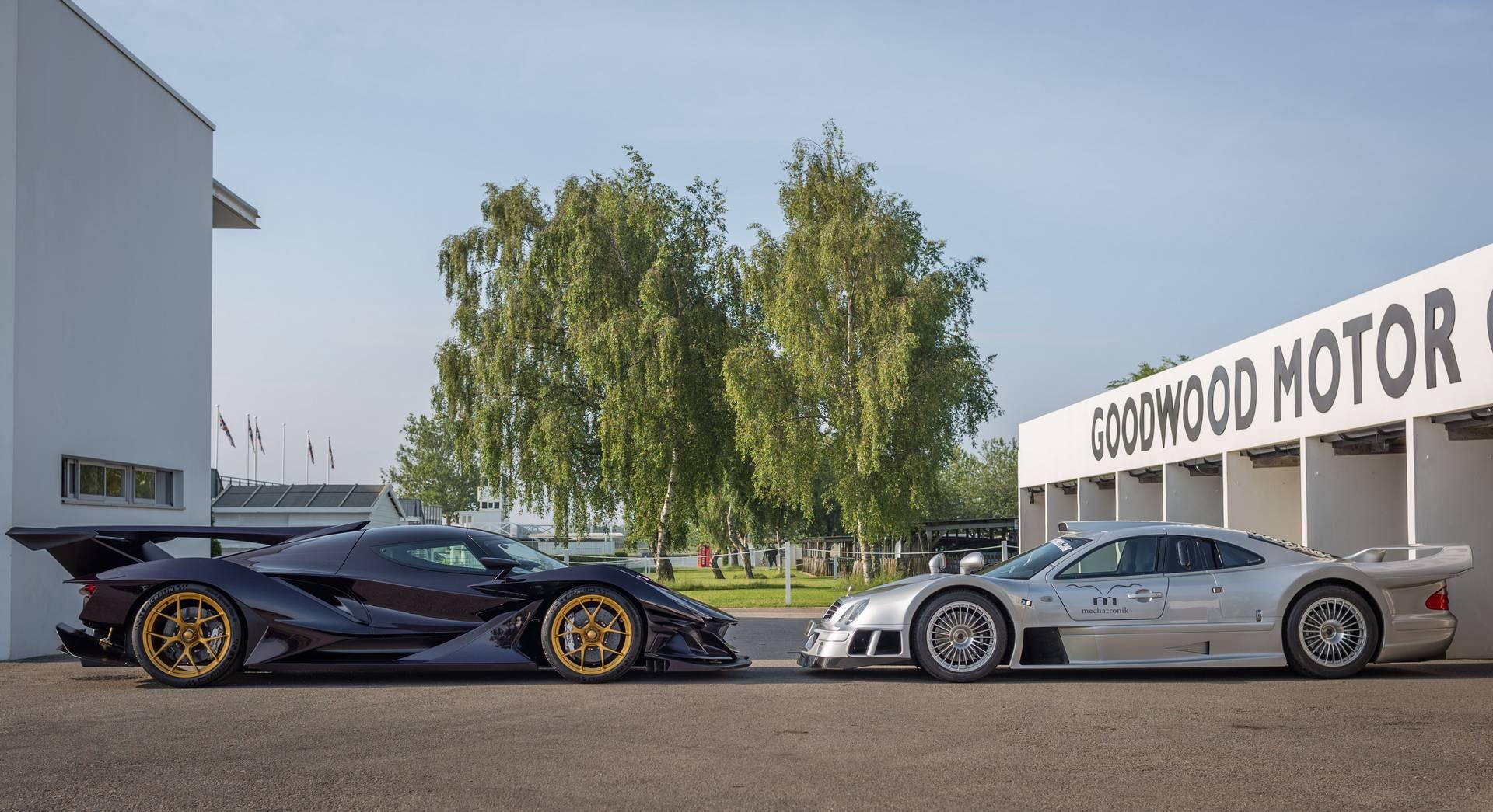 Немецкая компания HWA известна своим участием в строительстве Mercedes-Benz CLK GTR.
