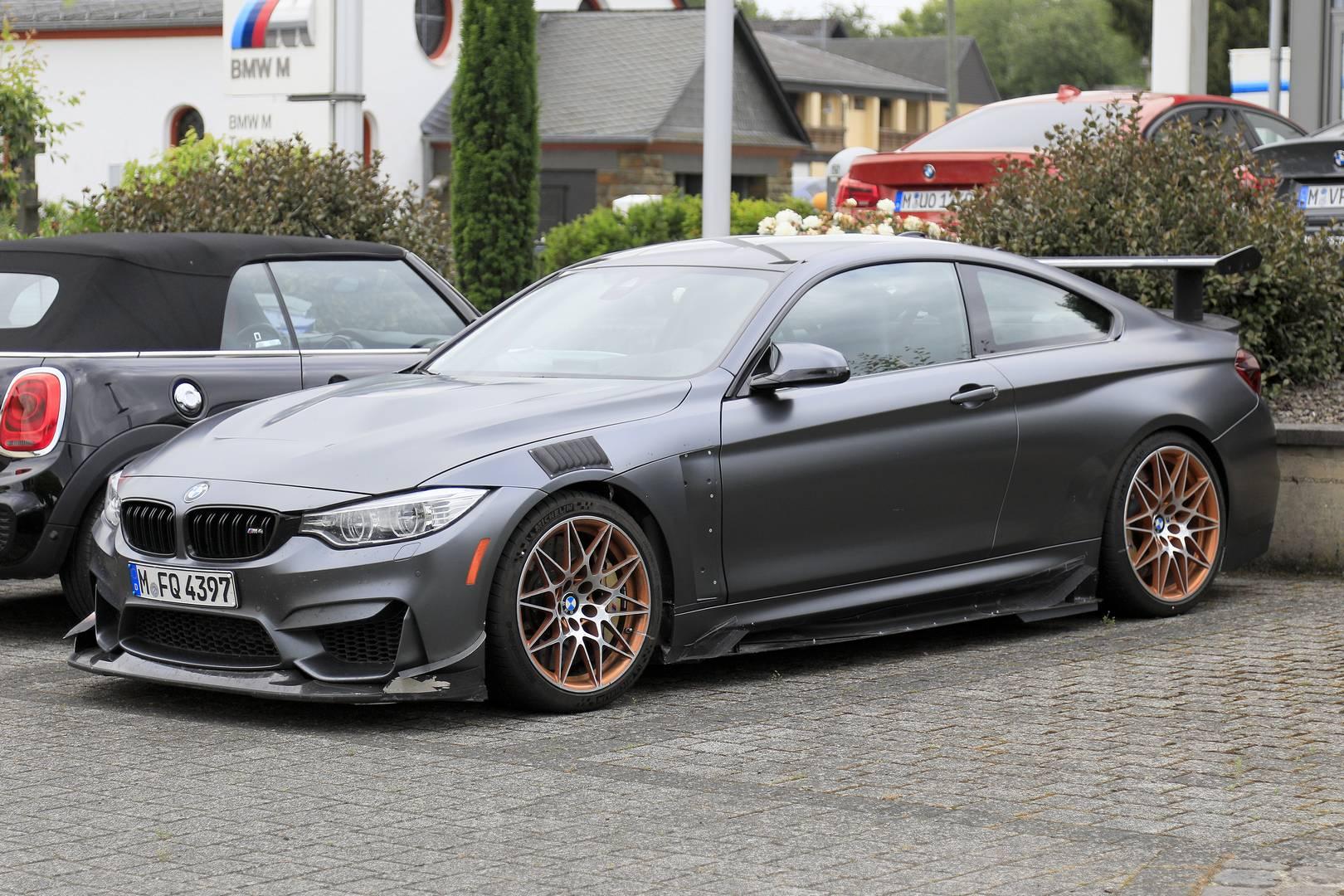 Наши источники предполагают, что автомобиль тестируется инженерами BMW.