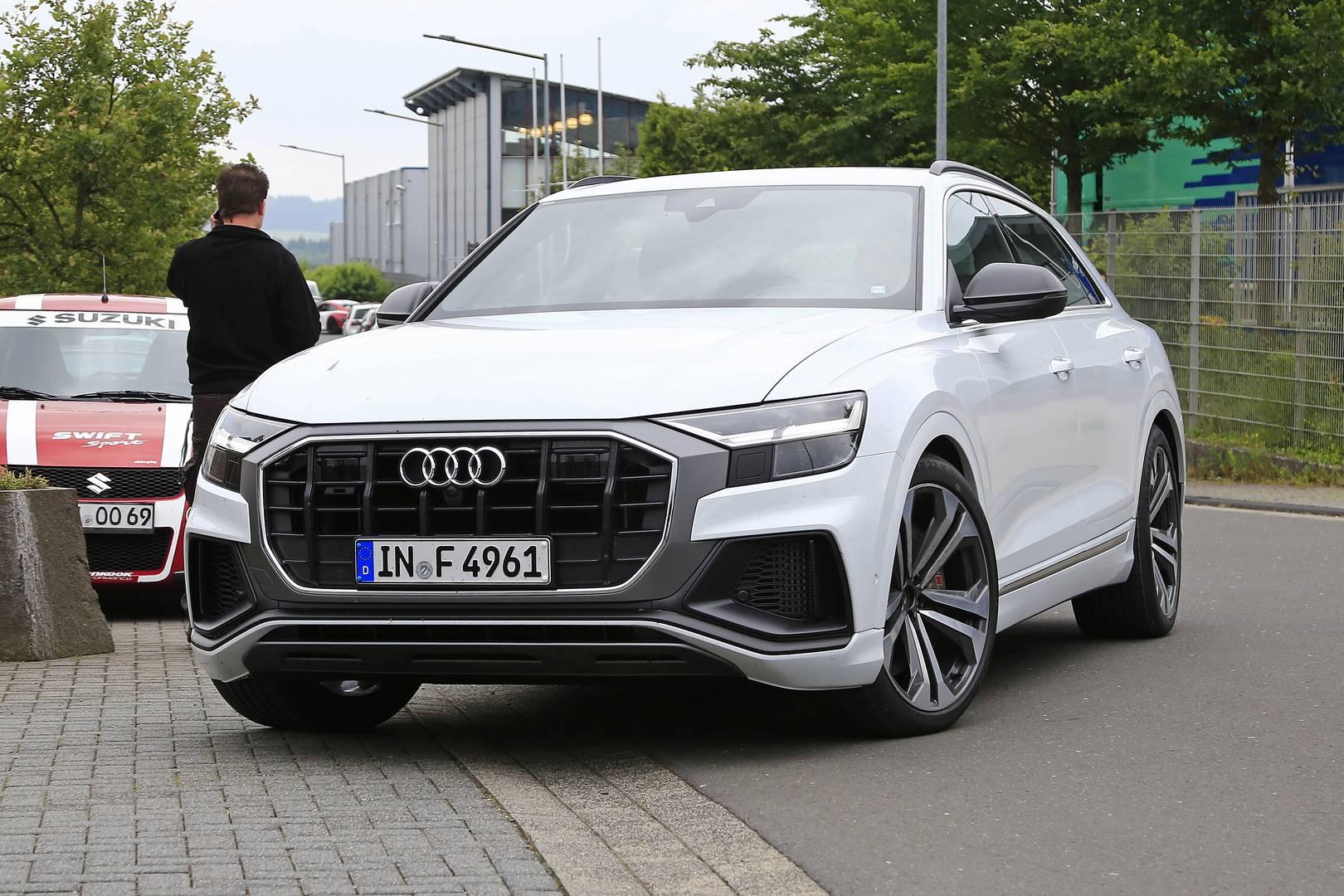 Похоже, что Audi может отказаться ль V8 для SQ8.