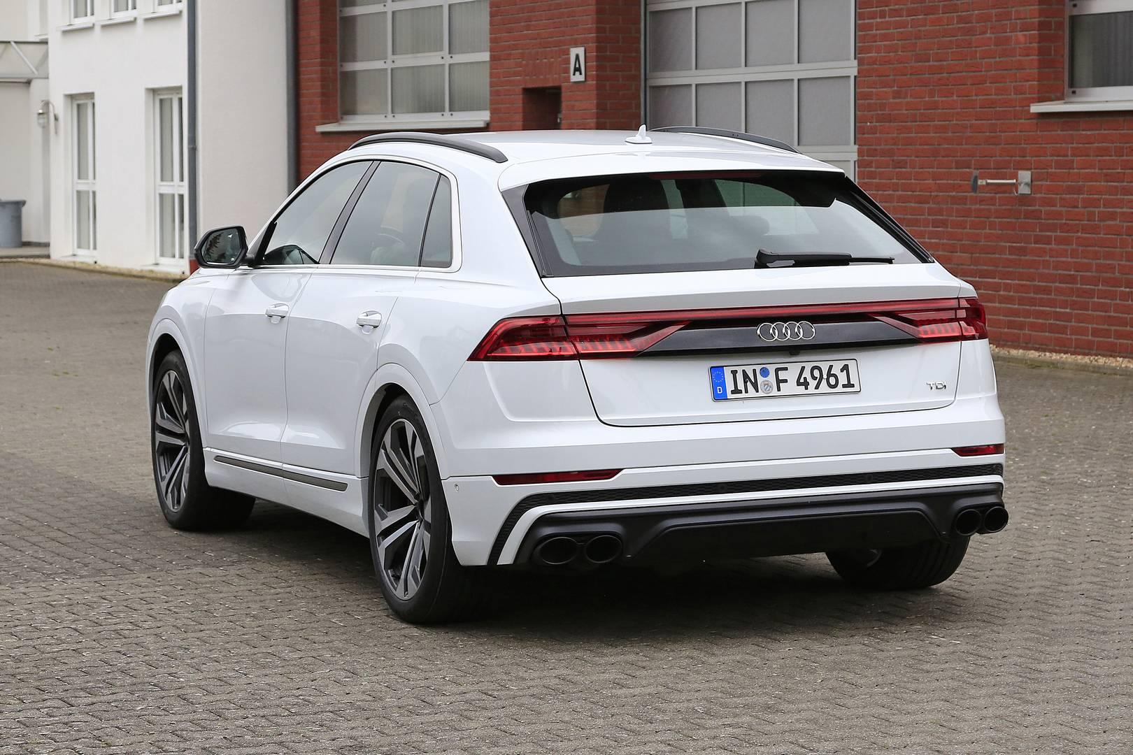 Audi Q8 был выпущен всего несколько недель назад.