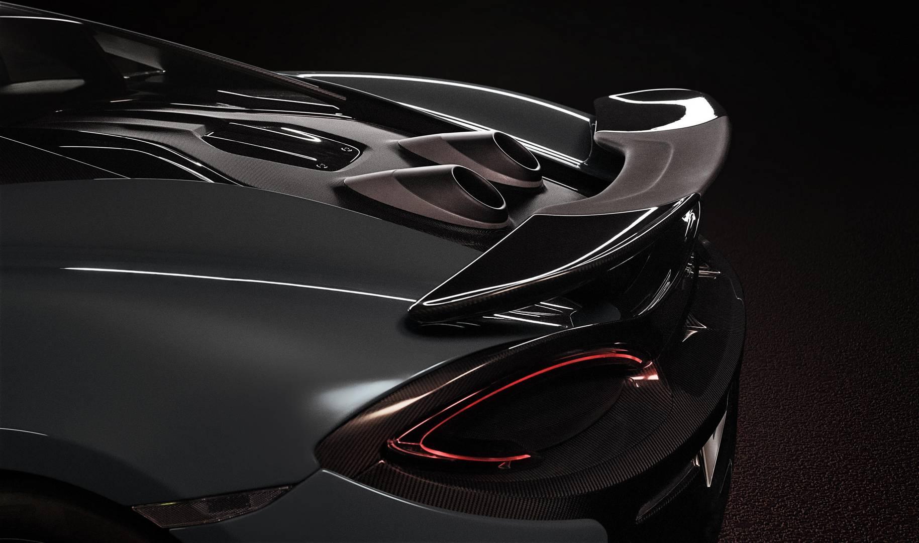 3,8-литровый двухцилиндровый V8 от McLaren производит 600 л.с. и 620 Нм крутящего момента.