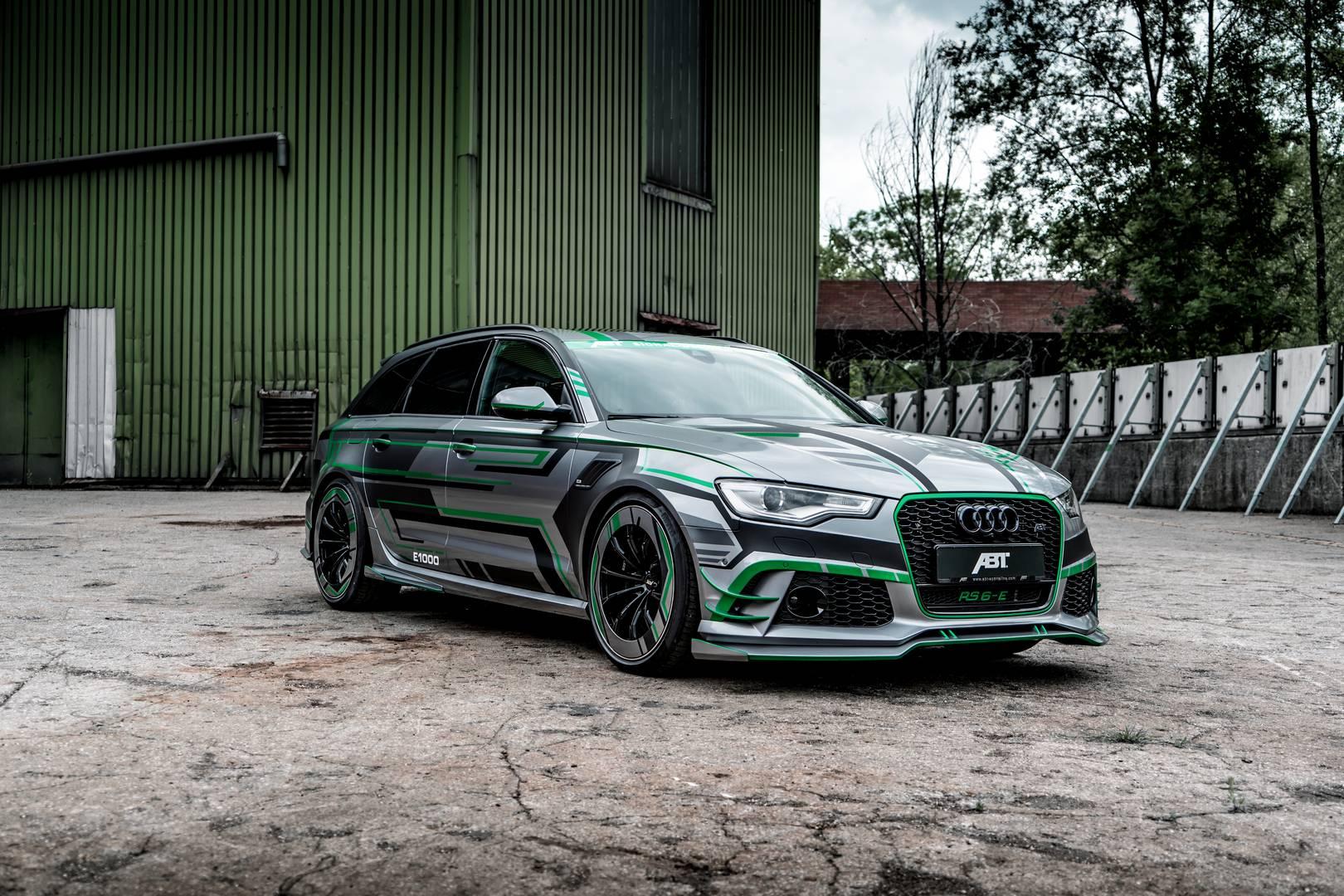 Разумеется, комплексный аэродинамический пакет, предлагаемый тюнером для обычного Audi RS6, также здесь присутствует – он включает передний сплиттер, накладки на пороги, крышки зеркал, расширители крыльев, задний спойлер и другое. Пружины подвески H&