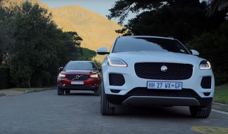 Старые сравнительные обзоры с участием Volvo XC40 и Jaguar E-Pace показали, что Швеция - победитель.