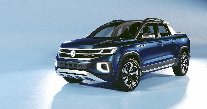 Volkswagen с гордостью демонстрирует Tarok Concept на Международном автосалоне в Сан-Паулу.
