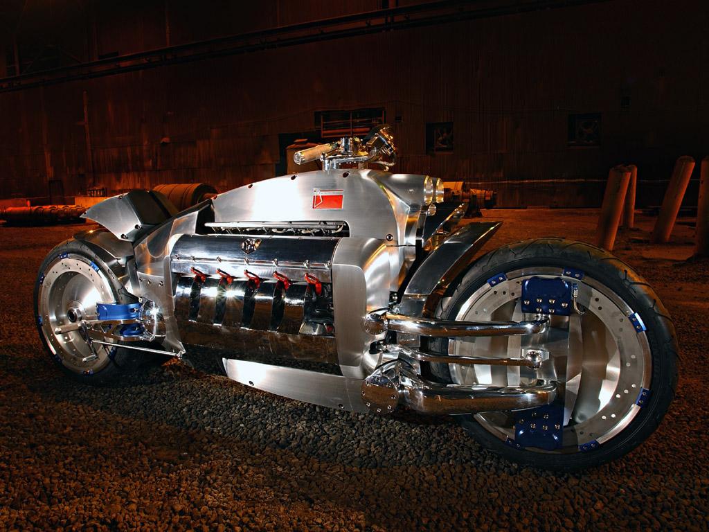 Dodge Tomahawk V10 - 550 000 долларов
