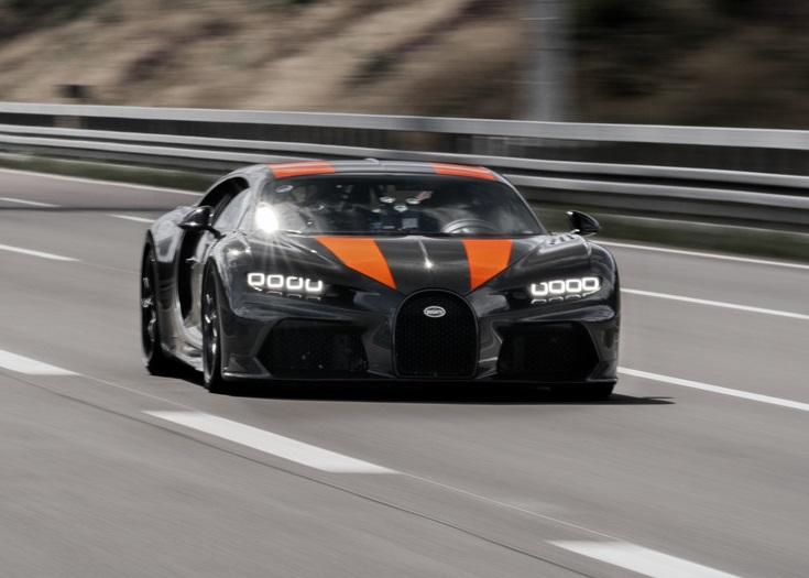 Chiron удалось достичь скорости свыше 300 миль в час.