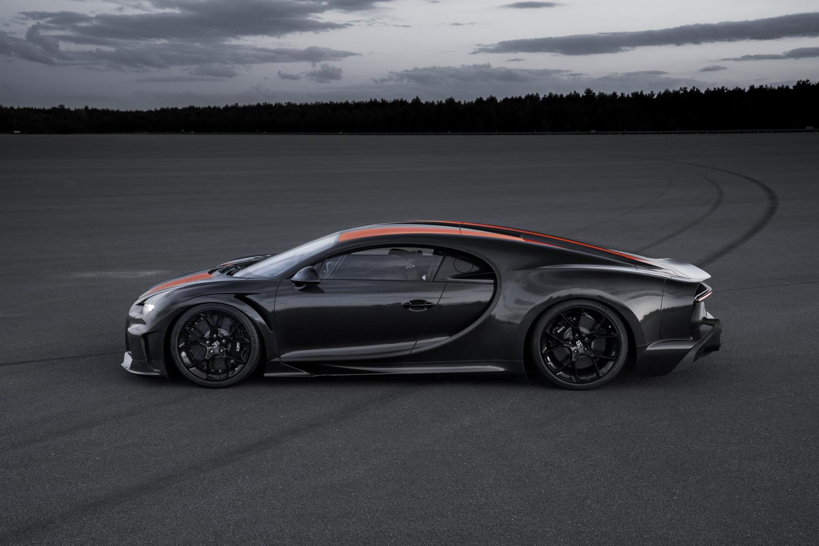 Близкая к производству версия Bugatti Chiron сегодня утром представила заявку как самый быстрый серийный автомобиль в мире.