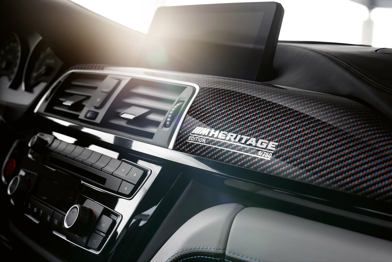 Специальная версия, основанная на M4 DTM, разработанной M Motorsport, доступна для клиентов Великобритании в трех цветовых решениях кузова и c усовершенствованной системjq трансмиссии.