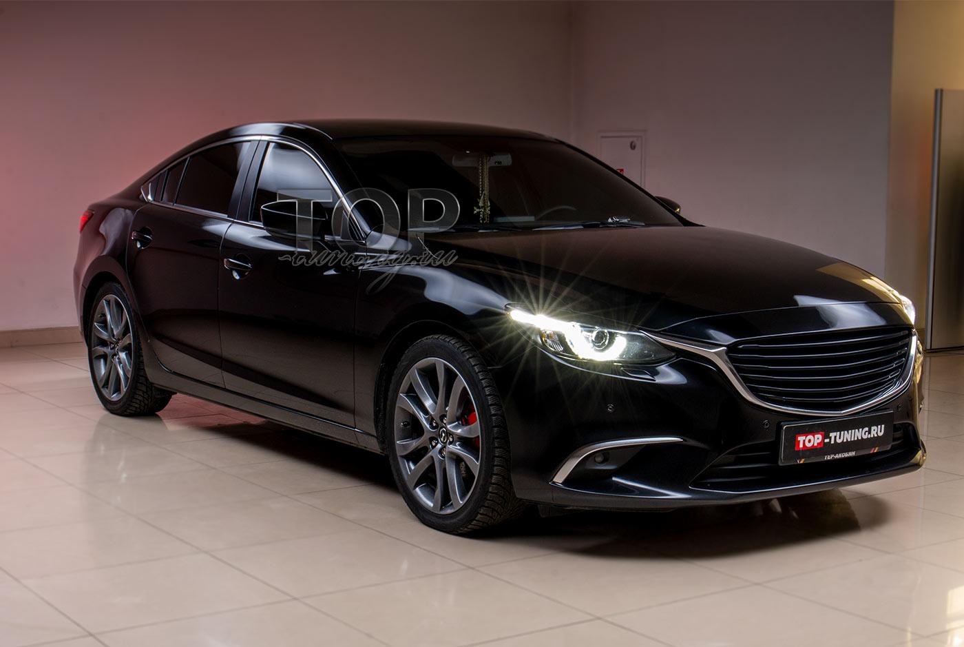 Установка диффузора Apex Speed на Mazda 6 GJ