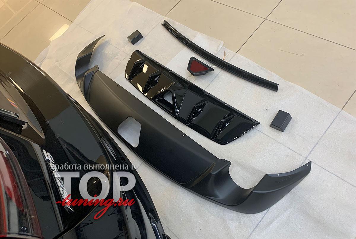 102926 Установка диффузора Apex Speed на Mazda 6 GJ