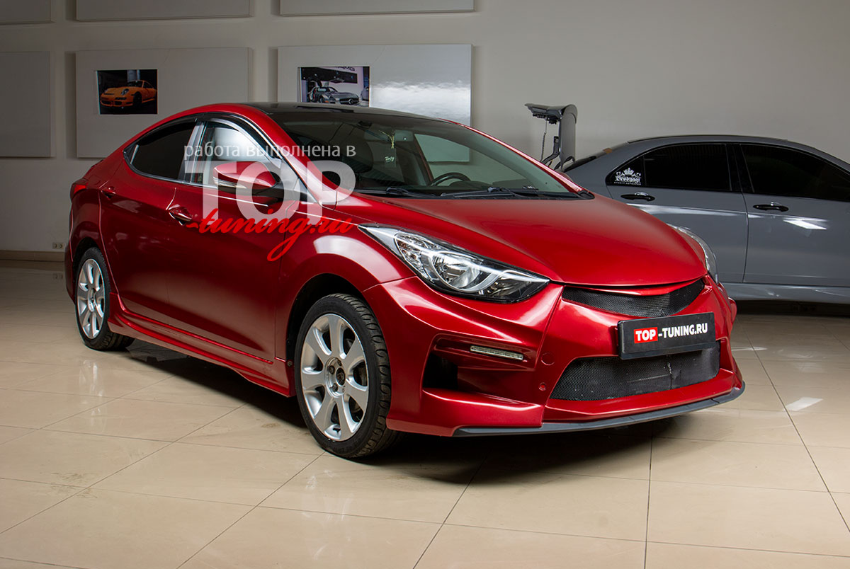 Обвес TRIAL M&S для Hyundai Elantra