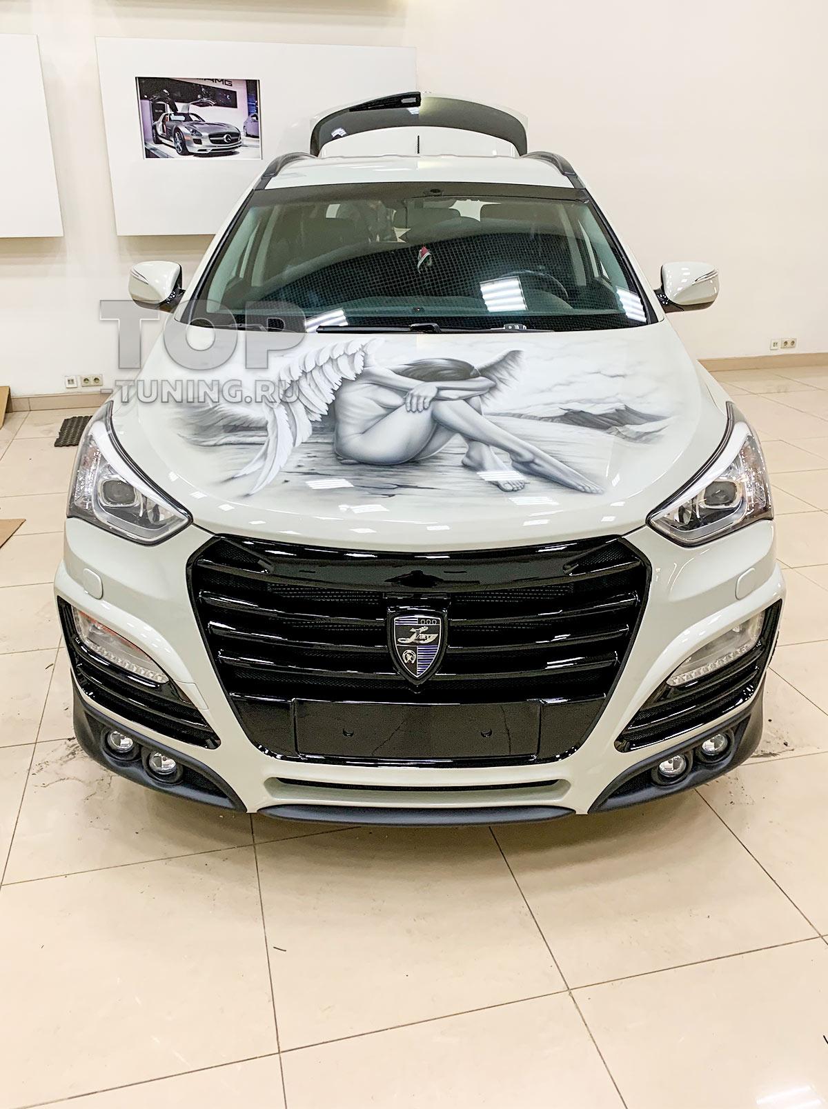 Тюнинг Hyundai Santa Fe 3